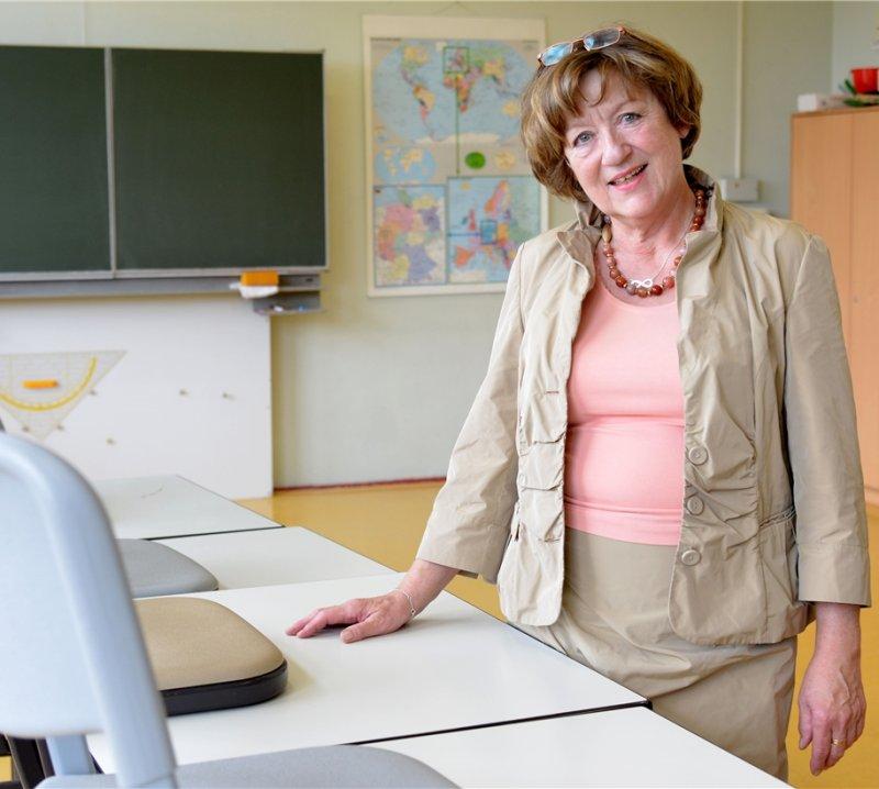 """Wird """"definitiv den Kontakt"""" zu ihren Kollegen vermissen: Ingeborg Berner  GB-Foto: Holom"""