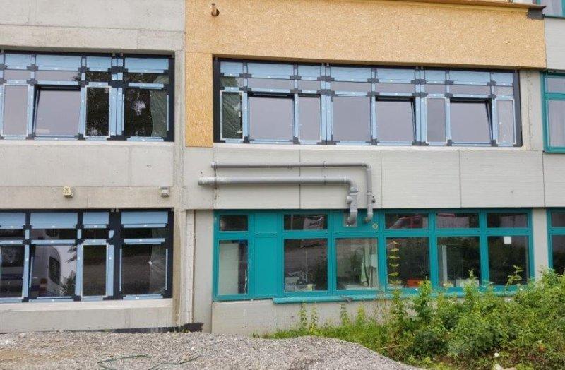 Im Inneren der Schule hat sich einiges getan  GB-Fotos: gb