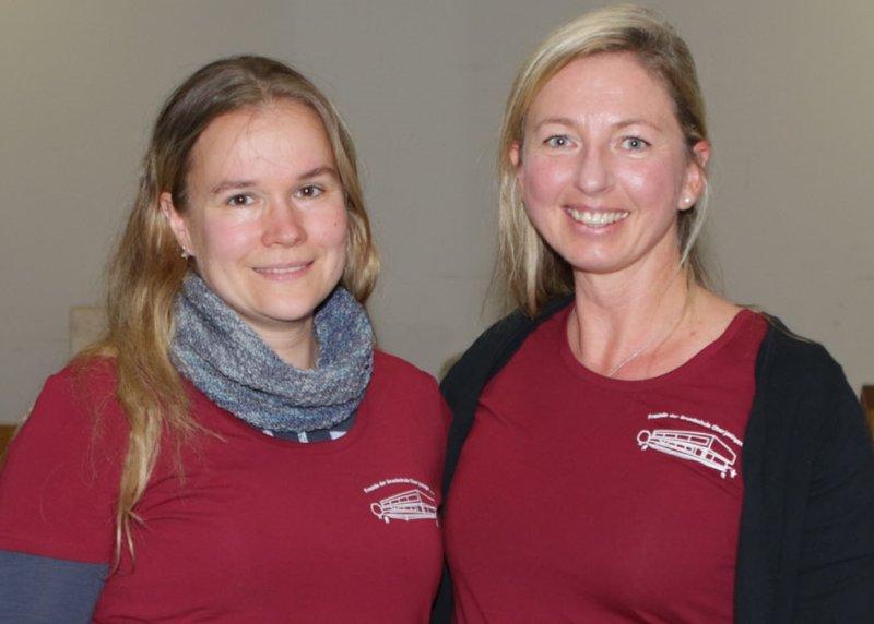 Christine Ulmer (links) löst Ingrid Hesmer ab GB-Foto: Bäuerle