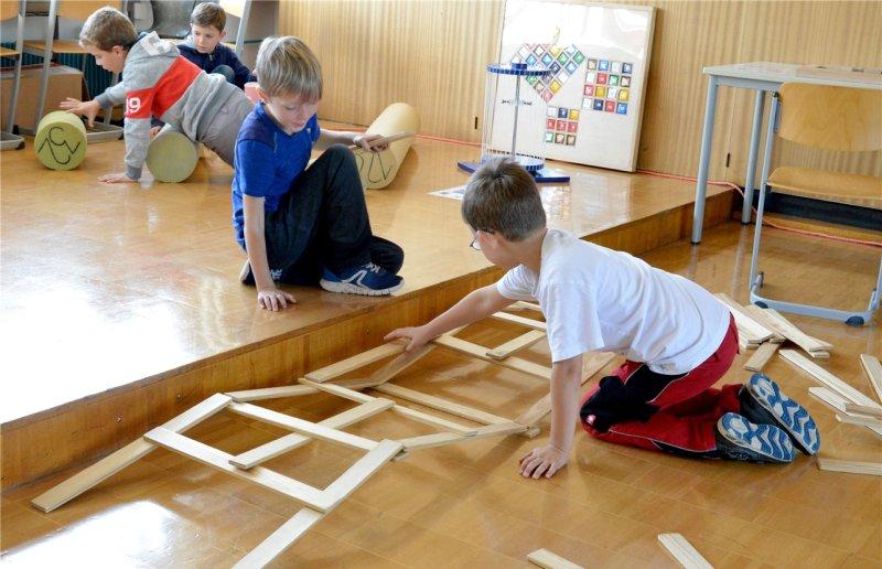 Dass Mathematik richtig viel Spaß machen kann, das haben die Grundschüler in dieser Woche auch gelernt  GB-Foto: Holom