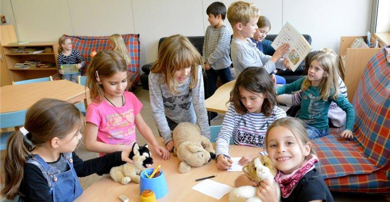 Die Kernzeitgrundschüler dürfen sich über zusätzlichen Platz freuen  GB-Foto: Holom