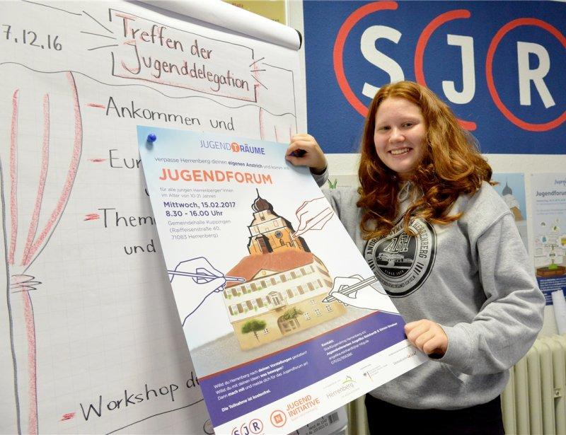 Das Jugendforum des Stadtjugendrings ist nur ein Einsatzbereich von Hannah Koch  GB-Foto: Holom