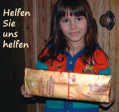 Ein beschenktes Kind  GB-Foto: gb