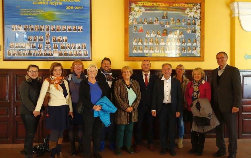 Die Böblinger Delegation gewann vielfältige Impressionen GB-Fotos: gb