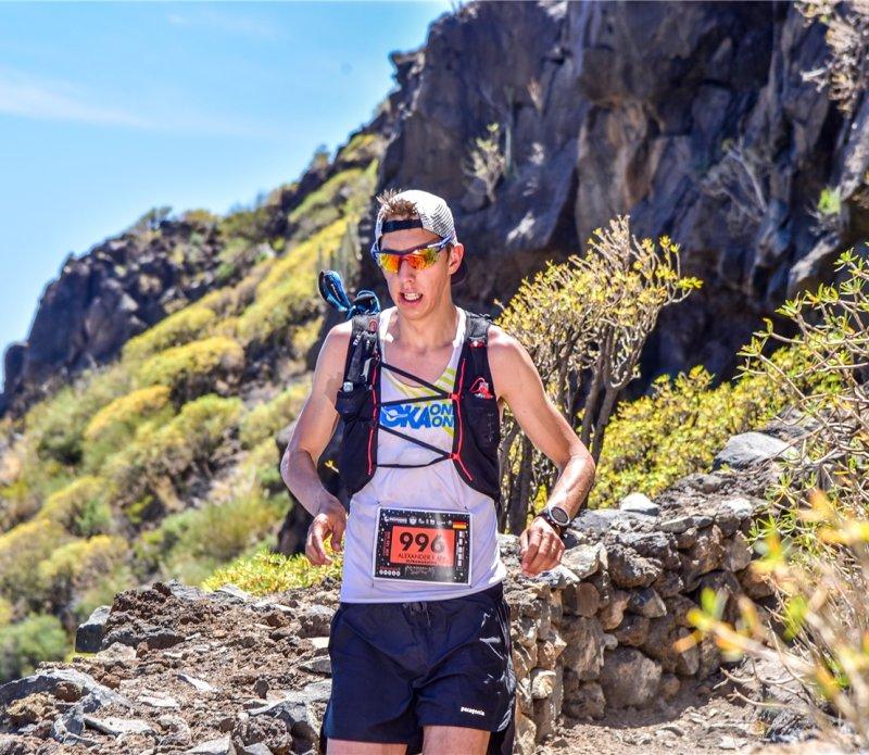 Alexander Kapp meisterte alle Klippen, die der 73 Kilometer lange Lauf bereithielt  GB-Foto: CanoFotoSports