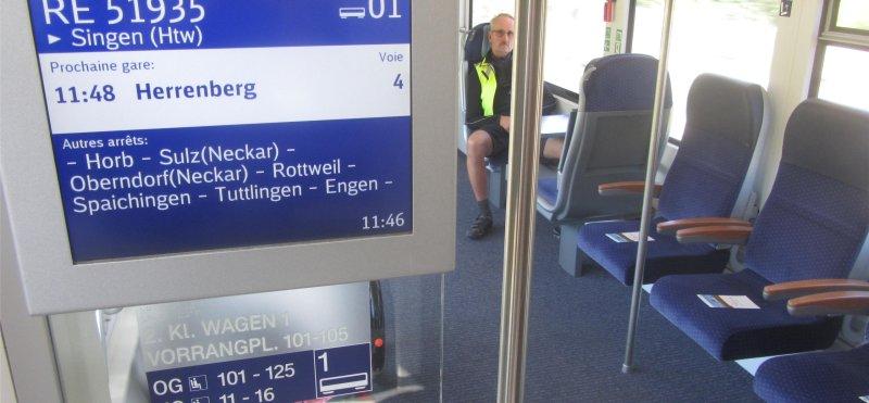 Fahrradmitnahme im Gäubahn-IC: Die Fahrradmitnahme ist mit Hürden verbunden  GB-Foto: DB AG