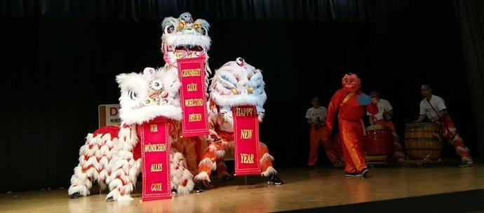 Zum chinesischen Neujahrsfest gibt es auch Vorführungen