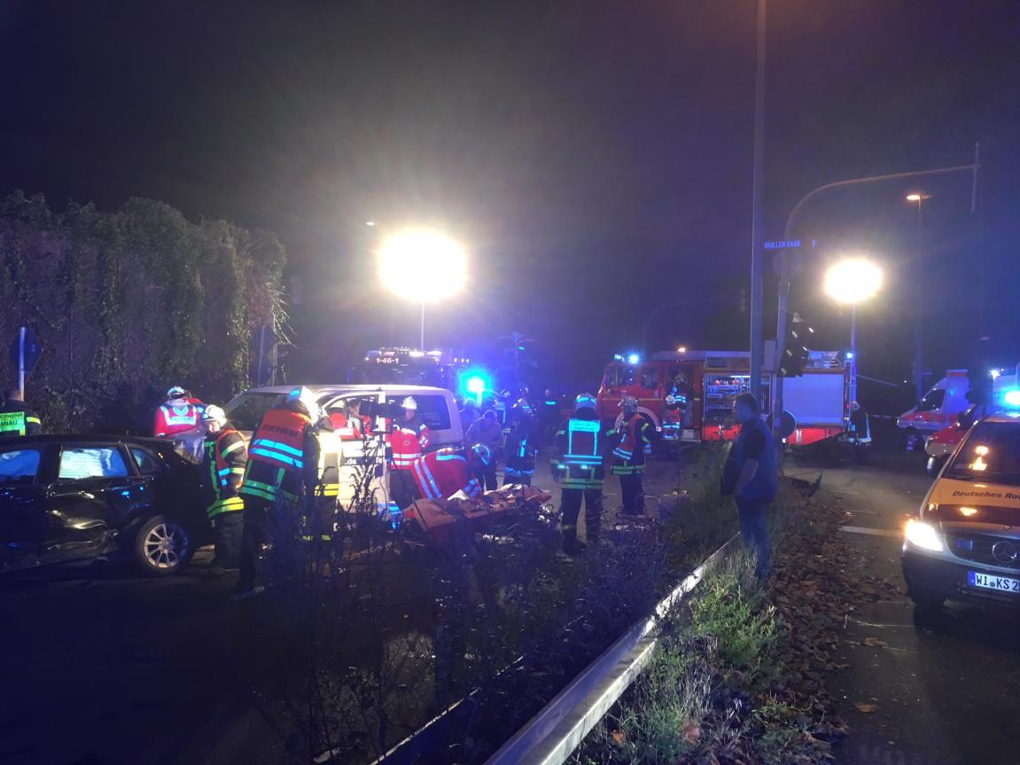 Schwerer Verkehrsunfall in Hanau-Großauheim - HANAUER ANZEIGER